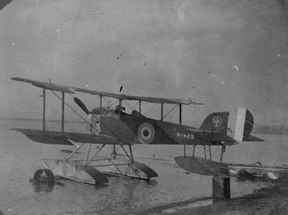 Development and evolution of British seaplanes from the 1910s to 1930s