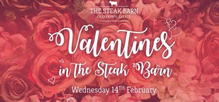 Valentines in the Steak Barn