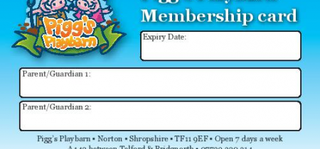 Pigg's Playbarn memberships