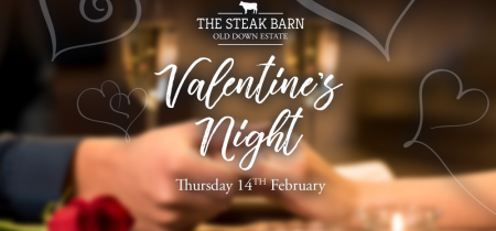 Valentine's Meal @ The Steak Barn