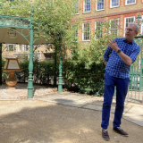 The attraction of the 'ancient impenetrability' of Charterhouse Square: recorded lecture