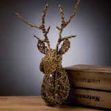 Notcutts Rivendell - Create a willow stags head - 28th February 2020