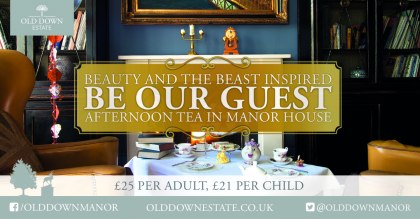 Be Our Guest Afternoon Tea