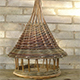 Willow Weaving A Bird House