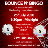 Bradley Lowery Foundation Bounce n Bingo