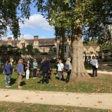 Live tour of the Charterhouse from the Square