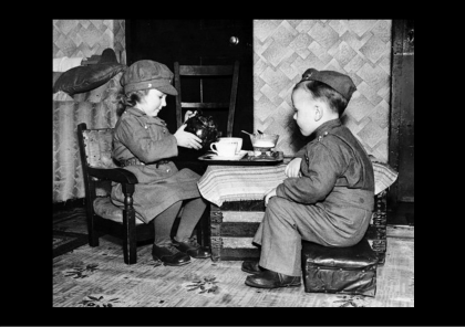 Children's Wartime Tea Party