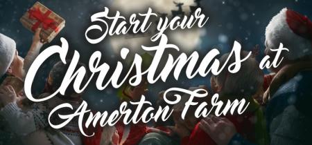 Christmas at Amerton Farm 2020