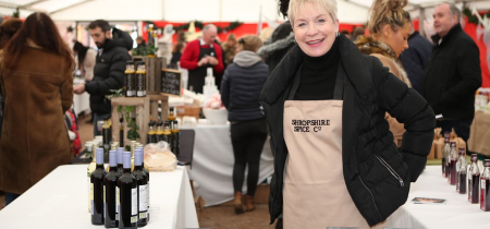 Apley Christmas Market 25-26 Nov - free entry - win a hamper