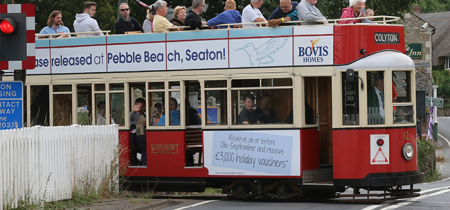 Trams leaving from Colyford