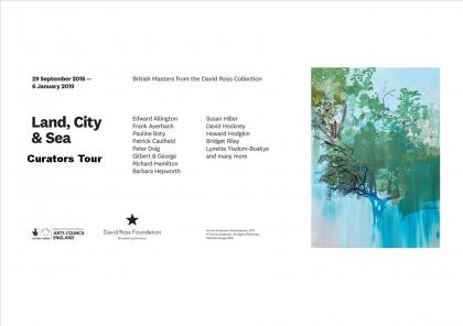 Curators Tour of the Land, City & Sea Exhibition