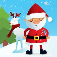 Santa's Grotto and Reindeer Family Experience