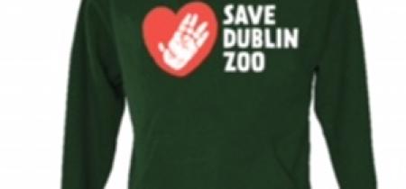Official Dublin Zoo 'Save Dublin Zoo' Hoodie