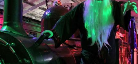 Halloween Spooky Steam Trains