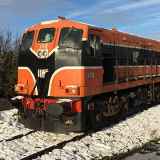 New Year Diesel Trains