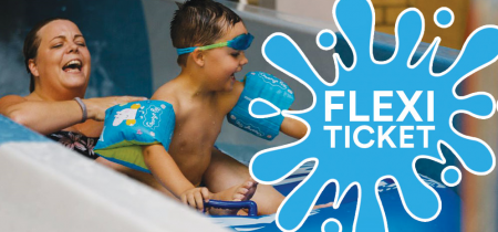 Family Fun Swim with Flumes - Flexi Tickets