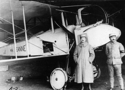 First World War in the Air Lunchtime lecture: Constructing a pilot image