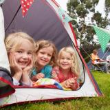 Camping  at William's Den Starts 28th May 2021
