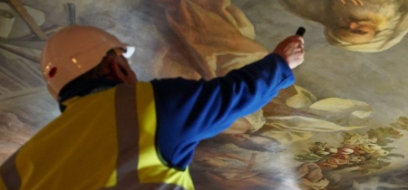 British Sign Language Painted Hall Ceiling Tour with Deaf Guide Alan D Murray - Saturday 12th May 2018 11AM