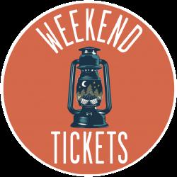 Weekend Tickets 2021