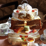 Afternoon Tea at Hoghton Tower