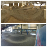 Velosolutions Pump Track & indoor Dirt Jumps