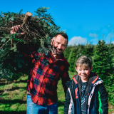 Site Pass for picking a Christmas tree