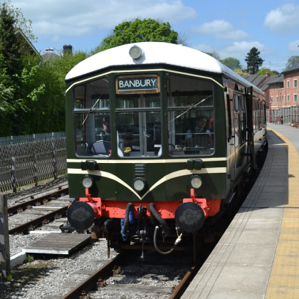 Special Tour of the Dean Forest Railway with Visiting Railcar 'Iris'
