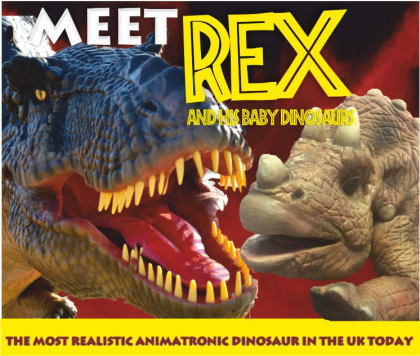 Meet Rex and his Baby Dinosaurs