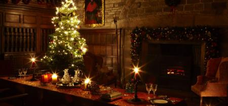 Christmas at Hoghton Tower
