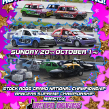Stock Car & Banger Racing St Day Sunday 20th October 1pm