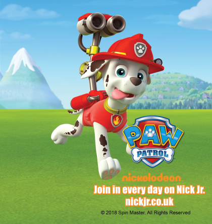 Meet Marshall from PAW Patrol: 26th August