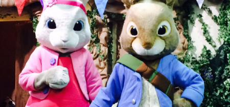 Peter Rabbit and Lily Bobtail VIP Meet and Greet