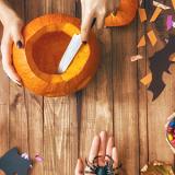 Pumpkin Carving for Kids-Willington
