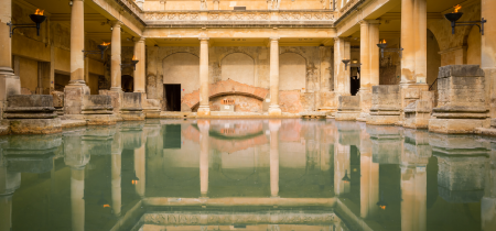 The Roman Baths & Lunch