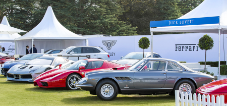 Salon Privé Classic & Supercar North + South Lawn Enclosure