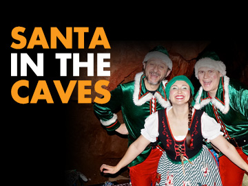 Santa in the Caves