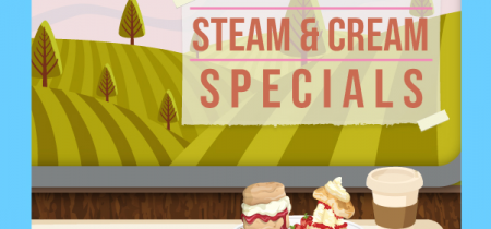 Steam & Cream Specials 2020