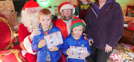 Santa, Elves & Sleigh Bells