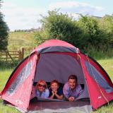 Camping at William's Den