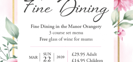 Mothers Day Lunch in The Manor