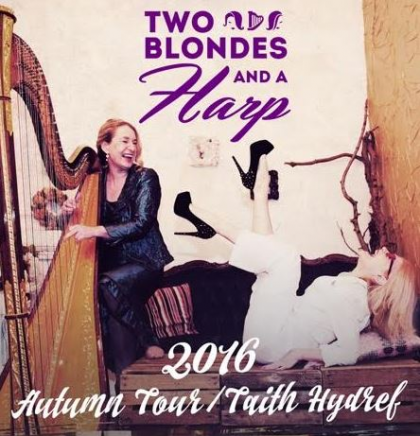 Two Blondes and a Harp