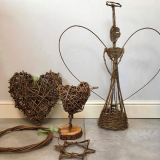 Notcutts Rivendell - Make your own willow Christmas decorations - 13th December 2019