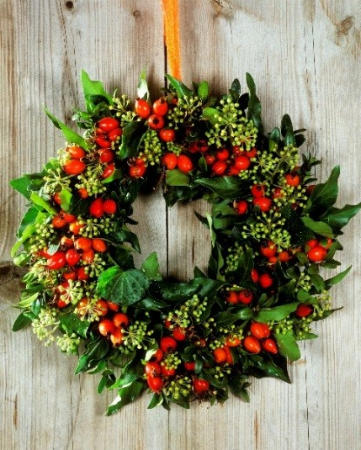 Christmas Wreath Making 2017 - Woburn
