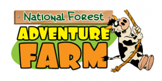 National Forest Adventure Farm, Postern Road, Tatenhill, Burton on Trent, DE13 9SJ. Logo