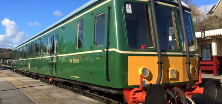 Bronze Drive a Diesel Railcar