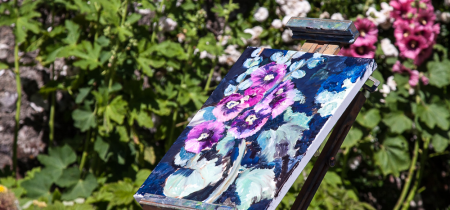 Painting in the Garden - Autumn | 21 September 2020