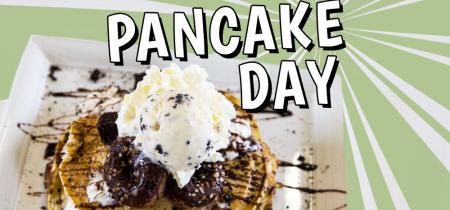 Pancakes at Toddler Tuesday