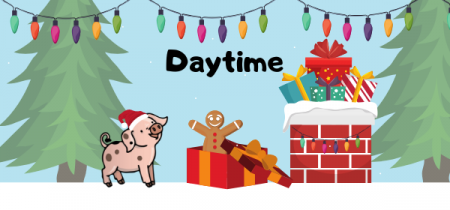 Daytime - Wiglet's Christmas Adventure & Father Christmas Visit Visit