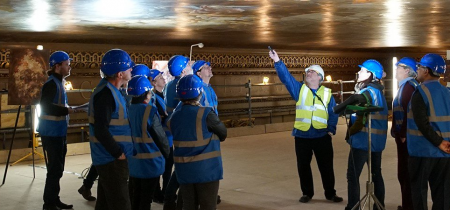 British Sign Language interpreted Painted Hall Ceiling Tour - March